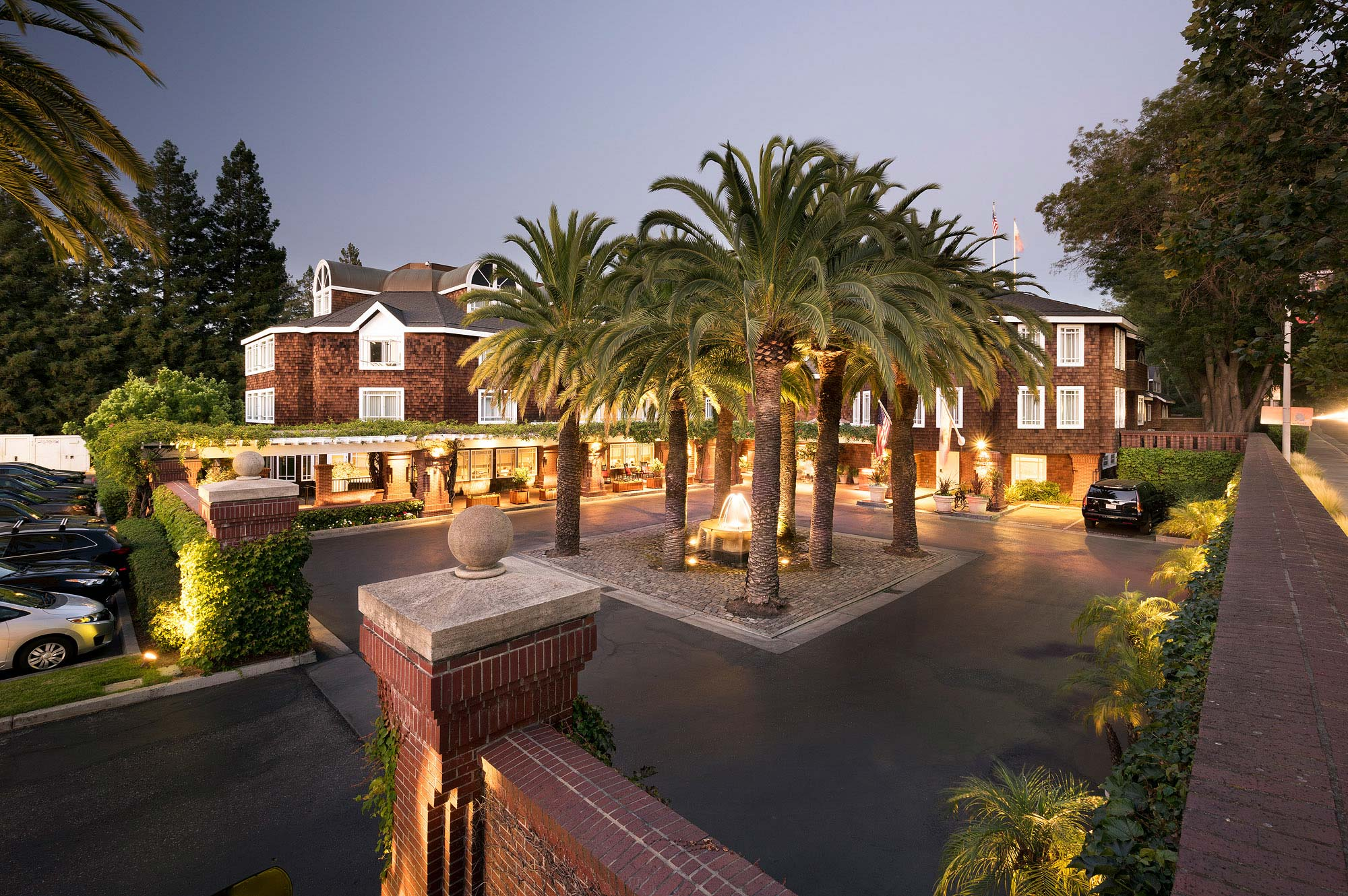 Stanford Park Hotel in Stanford California